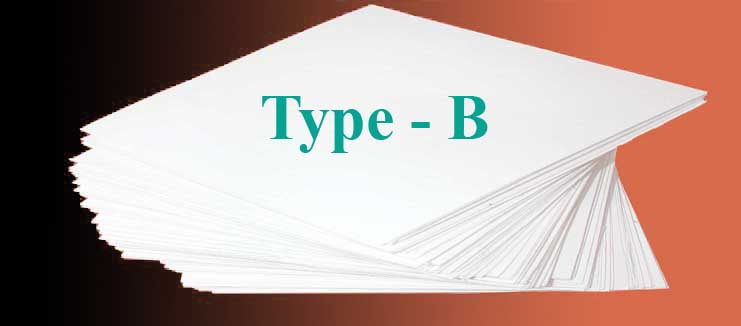 B-type product.